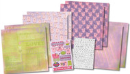 BABY GIRL It's A Girl 12X12 Scrapbooking Kit Karen Foster 20534 NEW