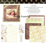 Baby Little Safari 12X12 Scrapbooking Kit The Paper Studio Memories 575811 NEW