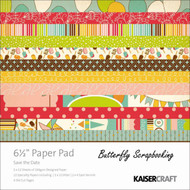 Birthday Save The Collection 6.5 inch Paper Pad Scrapbooking Kit Kaisercraft NEW