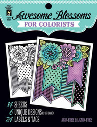 BLOSSOMS For COLORISTS Card Making & Paper Crafting HOT OFF THE PRESS 8501 New