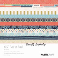 Blubelle Collection 6.5 inch Paper Pad Scrapbooking Kit Kaisercraft NEW