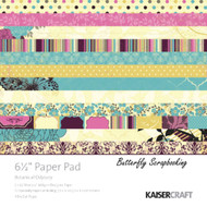 Botanical Odyssey Collection 6.5 inch Paper Pad Scrapbooking Kit Kaisercraft NEW
