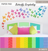 BRIGHT COLOR BASICS 12X12 Scrapbooking Paper Pad by K&Company 36p 30-697751 NEW