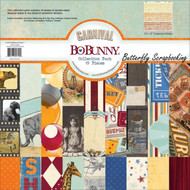 Carnival Collection Pack 12x12 Scrapbooking Kit Bo Bunny BoBunny New
