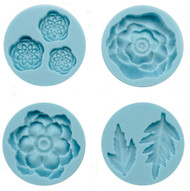 Cheerful Flower Mold for Crafters Clay Martha Stewart Crafts Paper Crafting NEW