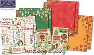 CHRISTMAS Holidays 12X12 Scrapbooking Kit Celebrate Christmas Karen Foster NEW