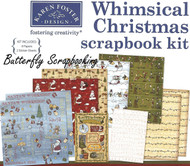 CHRISTMAS Whimsical Christmas 12X12 Scrapbooking Kit Holidays Karen Foster NEW