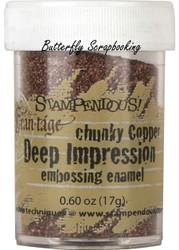 COPPER Deep Impression Embossing Enamel Powder Frantage Stampendous FREG047 New