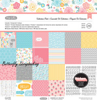 Cute Girl My Girl Collection 12X12 Scrapbooking Kit American Crafts 219 pcs New