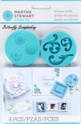 Decorative Design Mold for Crafter Clay Martha Stewart Crafts Paper Crafting NEW