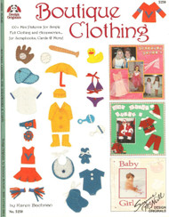 Design Originals - Boutique Clothing! Idea & Instruction Book - NEW, #5250