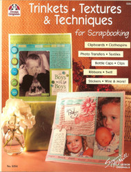 Design Originals - Textures & Techniques For Scrapbooking! Idea Book -NEW, #5254