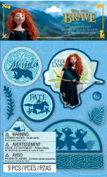 Disney Brave Silhouette 3D Stickers by EK Success 59-80088 New