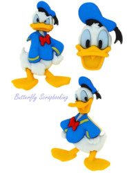 DISNEY DONALD DUCK Buttons Dress It Up Button Embellishments Jesse James NEW