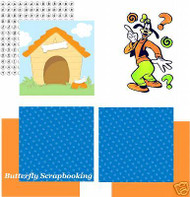 DISNEY GOOFY Collection 12X12 Scrapbook Kit SANDYLION