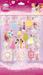 Disney Princess Fairytale 118 Pieces Scrapbook Die Cuts EK Success NEW