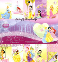 Disney Princess Specialty 12x12 Scrapbooking Paper Pad 24 Sheets EK SUCCESS New