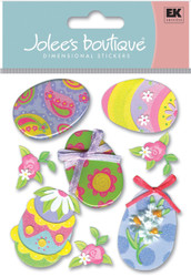 Easter Eggs 3D Stickers Jolee's Boutique EK Success New