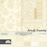 FAITH Collection 12x12 Scrapbooking Paper Crafting Kit Authentique FAI012 New