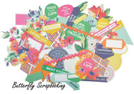 FIESTA Collectables Collection Scrapbooking 50 pc Die Cuts Kaisercraft NEW