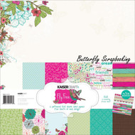 FLY FREE Collection Pack 12X12 Scrapbooking Kit Kaisercraft PK513 Paper Crafting