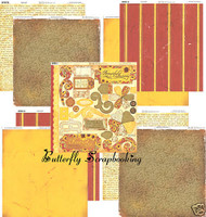 FRIEND FLOWER Collection 12x12 Scrapbooking Kit BoBunny Papers and Diecuts