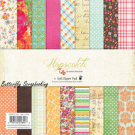 Girl Hopscotch Collection Scrapbooking 6x6 inch Paper Pad Fancy Pants 36 Sh NEW