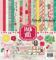 Girl JACK AND JILL Collection Kit 12X12 Scrapbooking Kit Echo Park Paper NEW