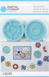 Graceful Bloom Molds for Crafters Clay Martha Stewart Crafts Paper Crafting NEW