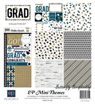 Grad Collection Kit 12''X12'' Scrapbooking Kit ECHO PARK PAPER - NEW, SW4505