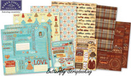 Grandparents 12X12 Scrapbooking Kit Grandmother Grandpa Karen Foster NEW