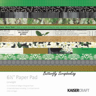 Green Limelight Collection 6.5 inch Paper Pad Scrapbooking Kit Kaisercraft NEW