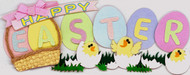 Happy Easter Egg Chicks 3D Stickers Jolee's Boutique EK Success New