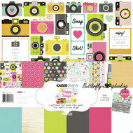 Happy Snaps Collection 12X12 Scrapbooking Kit Kaisercraft Paper Crafting NEW