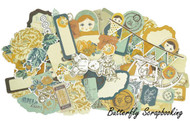 Hidden Treasures Collectables Scrapbooking 50 pc Die Cuts Kaisercraft NEW