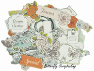 Honey Chai Collection Scrapbooking 50 Die Cuts Collectables Kaisercraft NEW