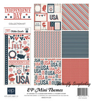 Independence Day Collection Kit 12X12 Scrapbook Kit ECHO PARK PAPER -NEW, SW4205