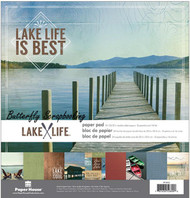 Lake Life 12x12 Scrapbooking Paper Pack Paper House PP-0052 NEW