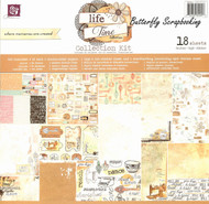 Life Time COLLECTION Kit Scrapbooking 12x12 inch Paper Pad PRIMA 18 Sheet NEW