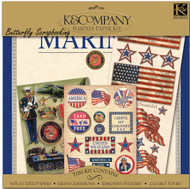 MARINES MILITARY 12X12 Scrapbooking Kit K&Company New