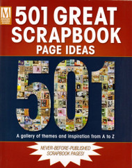 Memory Makers Books, 501 Scrapbook Page Ideas & Gallery Of Themes - NEW, 33358