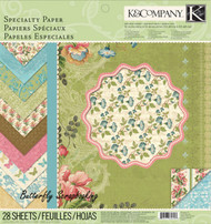 Merryweather Specialty 12X12 Paper Pad Scrapbooking K&Company NEW