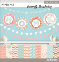 PASTEL COLOR BASICS 12X12 Scrapbooking Paper Pad by K&Company 80pc 30-697782 NEW