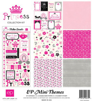 PRINCESS Girl Collection Kit 12X12 Scrapbook Kit ECHO PARK PAPER CO SW5405 New