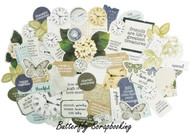 PROVINCIAL Collectables Collection Scrapbooking 50 Die Cuts Kaisercraft NEW