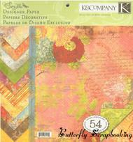 Que Sera Sera Designer Scrapbooking 12X12 Paper Pad 54 Sheets K&Company New
