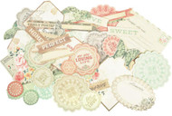 Rustic Harmony Collectables Scrapbooking 50 piece Die Cuts Kaisercraft NEW