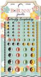 Scrapbooking Jewels Baby Bump Collection Pearls & Gemstones Bo Bunny BoBunny NEW