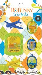 Scrapbooking Trinkets Boys Toys On The Go BoBunny Bo Bunny NEW