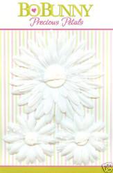 Scrapbooking White Daisy PRECIOUS PETALS Bo Bunny NEW